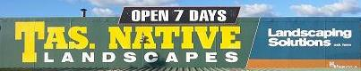 Tas Native Landscape & Paving Supplies
